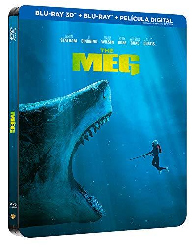 Megalodón  Blu-Ray 3d Steelbook [Blu-ray]