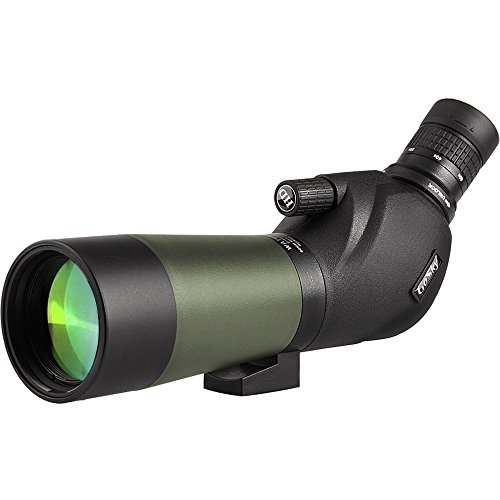 Discover Bargain Gosky 20-60x60 Waterproof Spotting Scope -BAK4 Angled Spotting Scope for Bird Watch...