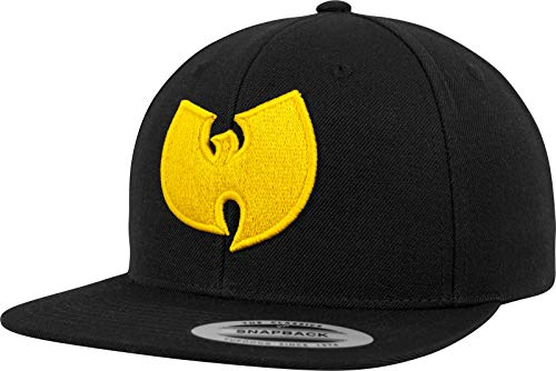 Wu Wear Logo Cap Kappe, black, one size