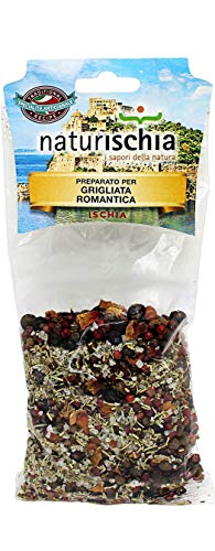 Naturischia - 3 confezioni di preparato per Grigliata romantica 100 gr. ciascuna - Prodotto tipico Ischia