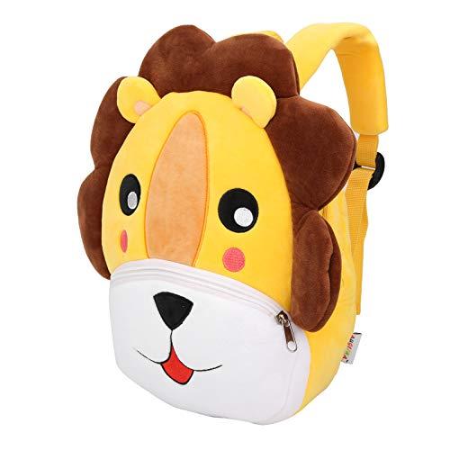 Colorful Toddler Backpack, Lightweight Adjustable Toddler Bag, for Toddlers Kids(lion)