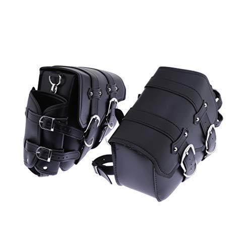 KESOTO 2stk Satteltasche Gepäcktaschen Fahrradtasche Taschenpaket von Lagerung für Motorrad Fahrrad, 30 x 24 cm