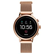 Case thickness: 13 mm, Case size: 40 mm, Band width: 18 mm,Battery Life: 1-2 days , multi-day modes Based on usage Band material : Rose gold tone Stainless steel ,Strap Inner Circumference: 175 +/- 5MM,Clasp Type:Safety Mesh Buckle,Notifications: Ala...
