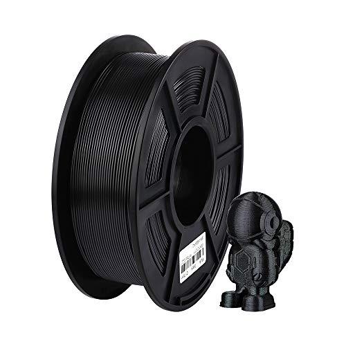 ANYCUBIC 3Dプリンター用 造形 フィラメント pla 高密度 環境保護 純正材料 【1.75mm】【正味1kg】 (ブラック, PLA)