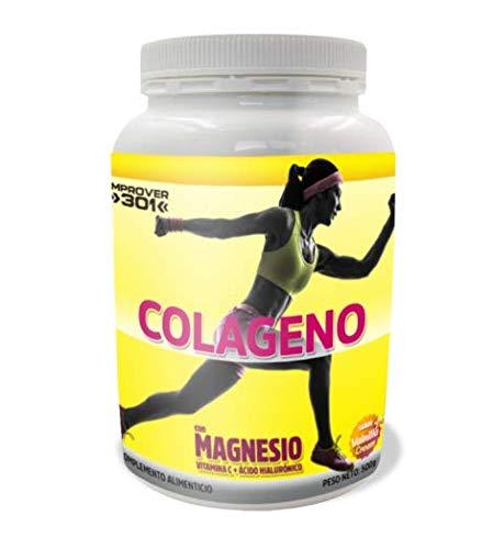Colágeno con Magnesio + Vitamina C + Ácido Hialurónico (500G / 35 dosis) (Vainilla Cream)