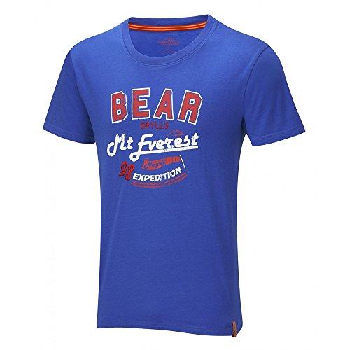 Craghoppers BG Nevergive Up T-Shirt pour Homme Bleu Bleu XL