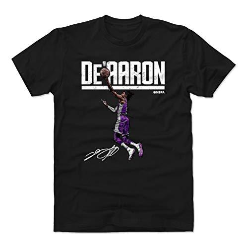 500 LEVEL De'Aaron Fox Shirt (Cotton, Medium, Black) - De'Aaron Fox Hyper W WHT
