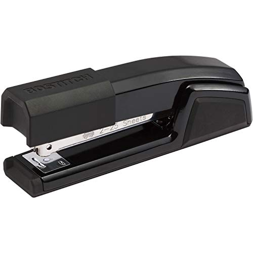 Bostitch Epic All Metal 3 in 1 Stapler with Integrated Remover & Staple Storage, Black (B777-BLK)