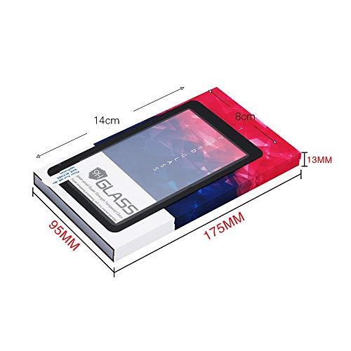 1 st Glas Beschermfolie 5.5 Inch 2560*1440 2 K LCD Screen Beschermende Gehard Film voor LS055R1SX04/LS055R1SX03 voor ANYCUBIC Photon WanHao Duplicator 7 SLA 3D Printer Accessoires 3D-printers, als reserve