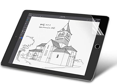 Oaky Paper Like Screen Protector for Apple iPad Air 3 10.5 inch 2019 3rd Gen Anti Glare Matte Screen Protector with Easy Installation Kit - Matte Clear