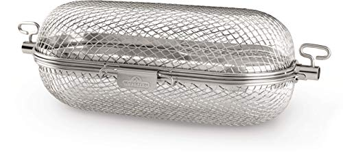 Napoleon 64000 Rotisserie Basket Grill Accessory, Stainless Steel