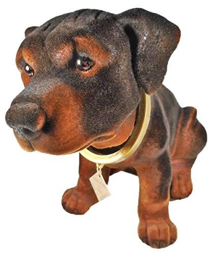 Perro Rottweiler GRS 0092a de 28 x 13 x 18 cm, 415 gramos
