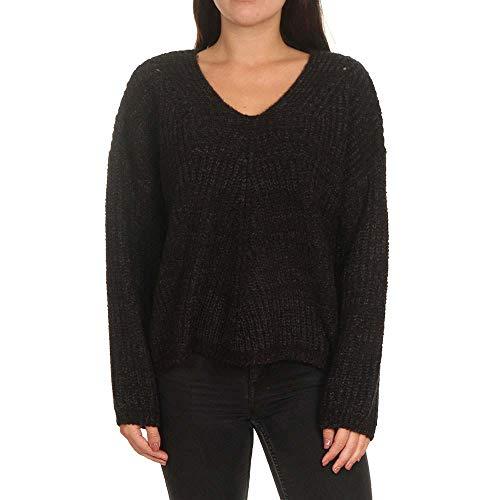 Rip Curl Dames Vest Woven V Neck Sweater Pecan Brown S