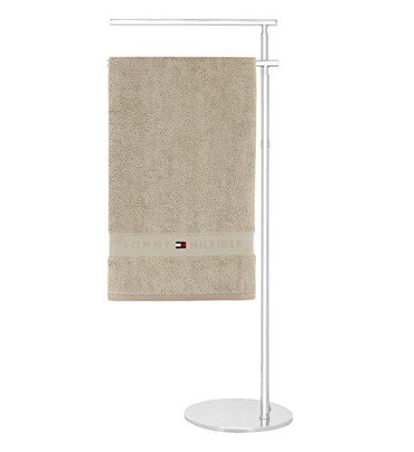 TOMMY HILFIGER badstof LEGEND set van 2 washandjes 30 x 30 handdoeken 100% badstof van puur katoen 30 x 30 cm Kameel