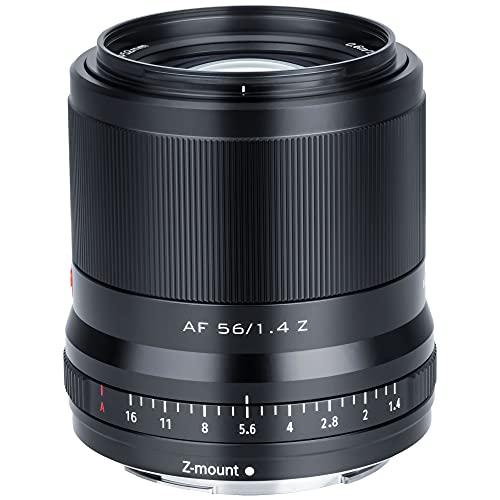 VILTROX 56mm F1.4 Z APS-C Messa a Fuoco automatica con motore progressivo Messa a fuoco degli occhi Lente per ritratti Obiettivo per Nikon Z Mount Zfc Modello Z5 Z6 Z7 Z50 Z6Ⅱ Z7Ⅱ
