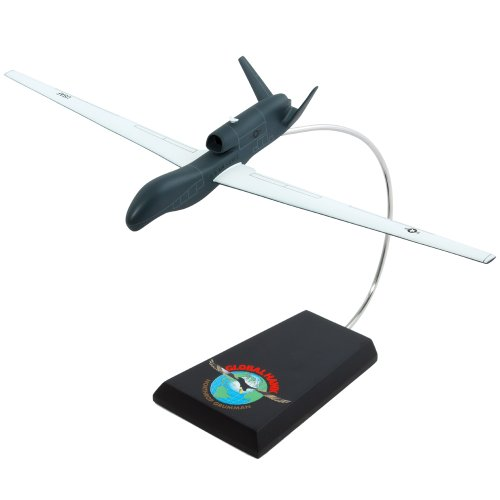 Mastercraft Collection RQ-4A Global Hawk United States Air Force Unmanned Aircraft Drone Model Scale: 1/72