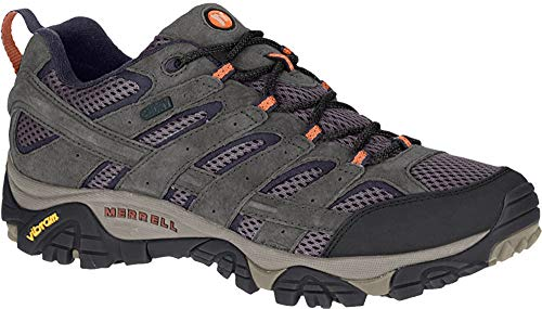 Merrell Men's Moab 2 Waterproof Hiking Shoe, Beluga, 10 M US