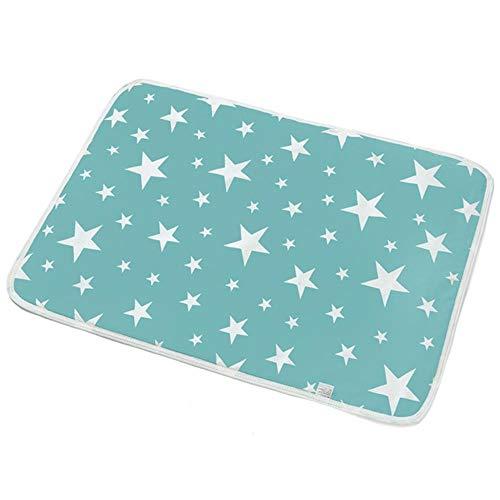Wiederverwendbare Windeln für Hunde Urin Wasser Saugfähigkeit Windel Schlafbett Für Haustier Hund Saugfähige Matte Welpe Trainingspad Baby Windeln, 2,60x75cm