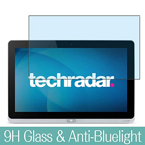 Synvy Anti Blue Light Tempered Glass Screen Protector for Acer Iconia Tab W700 11.6' Visible Area 9H Protective Screen Film Protectors
