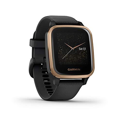 Garmin Venu Sq Music Amazon Exclusive – wasserdichte GPS-Fitness-Smartwatch mit Musikplayer, 1,3