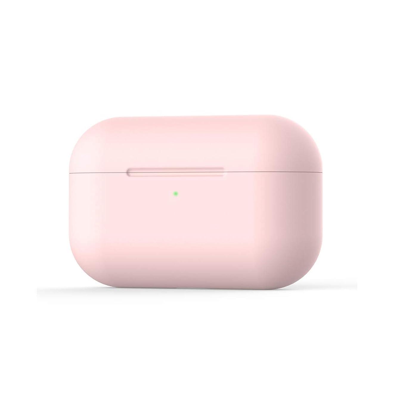 隙間旅行三角YSLBY 落書きベアAirpodsケース、1と2に適したワイヤレスBluetoothイヤホンカバー、繊細なマットソフトシェル、 (Color : Pink)