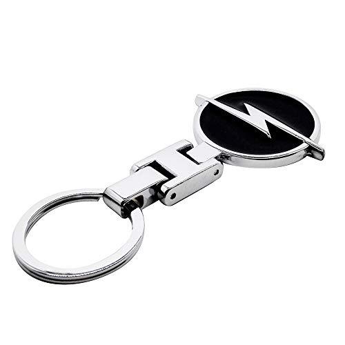 Auto's Styling Sleutelhanger Metaal Embleem Logo Sleutelhangers Auto Accessoires Voor OPEL Insignia OPC Meriva Zafira Antara Combo Ampera