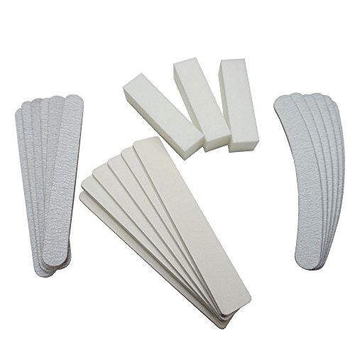 GS-Nails 21tlg. Set mit Feilen Buffer Nagelfeilen Sandpapier Musterset