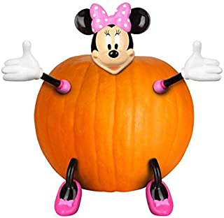 Minnie Mouse Pumpkin Push In Decoration