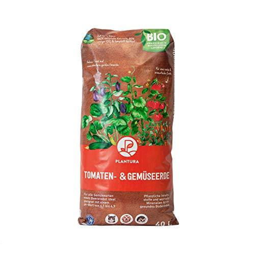 Plantura Bio Tomaten- & Gemüseerde, 40 L, torffrei & klimafreundlich, vorgedüngt