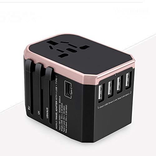 USB-Reisebuchse Multifunktions-Konvertierungsstecker 220V Zu 110V Konverterstecker Geeignet Für Heimreisebuchse