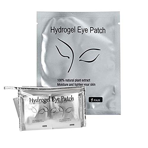 BNP 50 Pairs Pcs Set Under Eye Pads Comfy Cool Lash Eye Patches Aloe Gel Pad for Eyelash Extensions Eye Mask Beauty Tool Salon Supplies