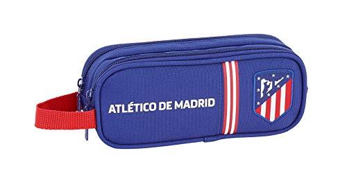 Atlético de Madrid 'In Blue' Oficial Estuche Escolar 210x60x80mm