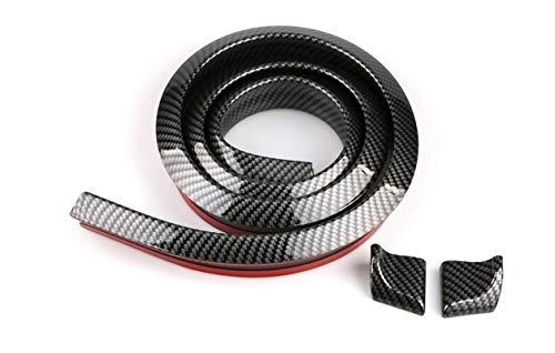 Auto Rear Spoiler 1,5m Universal Tape Carbon Tail Decoration, Kofferraumspoiler Heckspoiler Spoiler Lippe