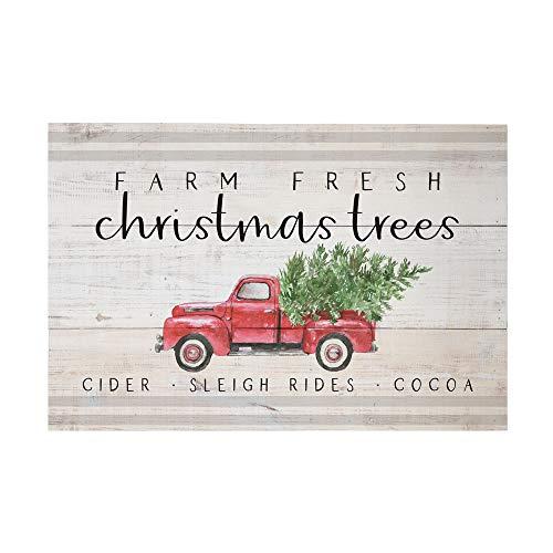 Simply Said, INC Holzschild, rustikale Paletten, 26,7 x 40,6 cm, Weihnachtsbäume