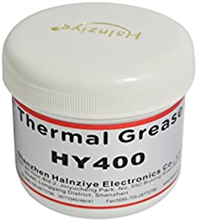 Halnziye HY400 - 100gram White High Performance Thermal Grease Compound Silicone for CPU VGA Heat Sink