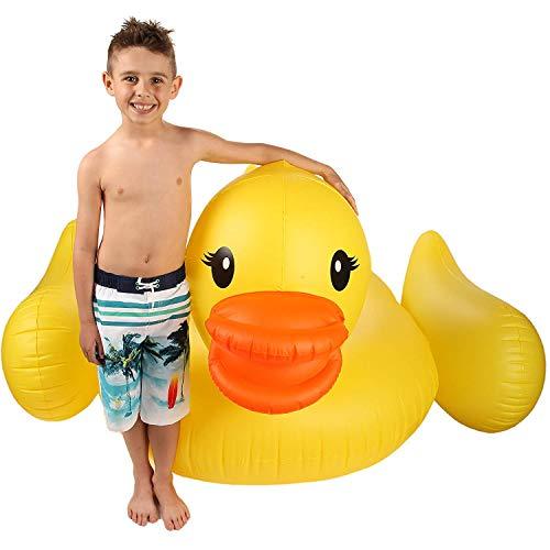 Inflatable Duck Float & Pool Raft