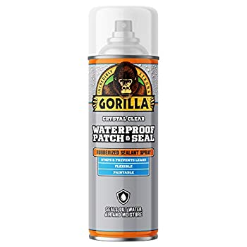 Gorilla Waterproof Patch & Seal Spray Clear 14 Ounces 1 Pack