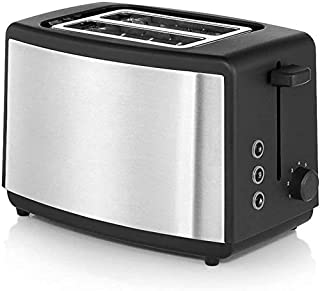 Mopoq Toaster Adjustable One Touch Quickly Double-Sided Baking Stainless Steel Toaster Simplicity Kitchen Appliance Detach...