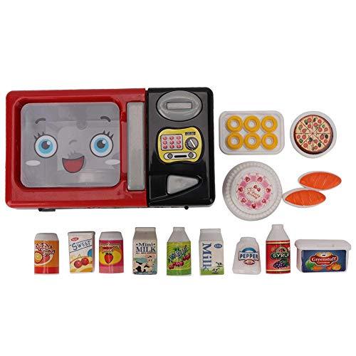 Elektronische Haushaltsgeräte Pretend Play, Haushaltsgeräte Lernspielzeug für Kinder(Microwave Oven)