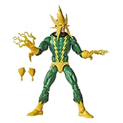6-INCH-SCALE COLLECTIBLE MARVEL'S ELECTRO FIGURE: Fans, collectors, and kids alike can enjoy this 6-inch-scale Marvel's Electro Retro Collection figure, inspired by the character from the Marvel Spider-Man comics. MARVEL COMIC-INSPIRED DESIGN: Spider...