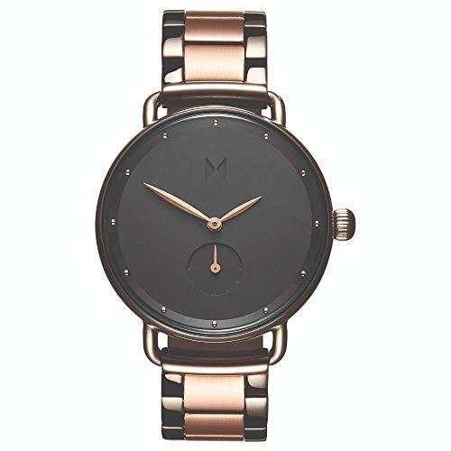 MVMT Damen Analoger Quarz Uhr mit Edelstahl Armband D-FR01-TIRG