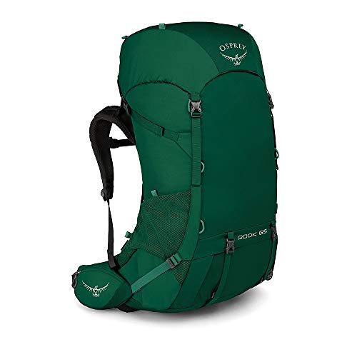 Osprey Rook 65 Men's Ventilated Backpacking Pack - Mallard Green (O/S)
