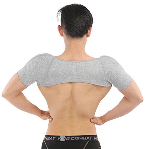 ENCOCO Winter-Schulterstütze, wärmend, Thermo-Bandage, schützt den Gürtel für Damen und Herren
