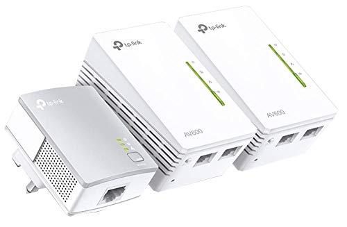 Powerline Kit, Av600 WiFi Triple...