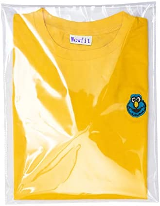Wowfit 200 Count 9x12 inches Clear Cellophane Plastic Bags Resealable Self Sealing Cello Bags product image