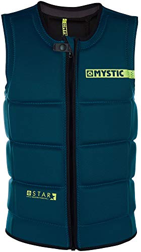 Check Out This Mystic Star Front-Zip Impact Vest 2019 - Teal XL