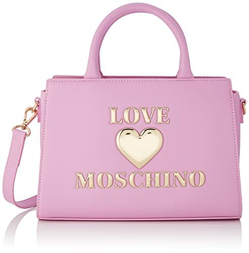 Love Moschino Damen Pre Collezione Autunno Inverno Schultertasche, Kollektion Herbst Winter 2021, Rosa, Einheitsgröße