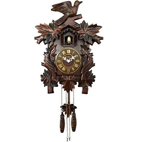 Relógio De Parede Herweg Cuco Madeira Ipê 530001-084
