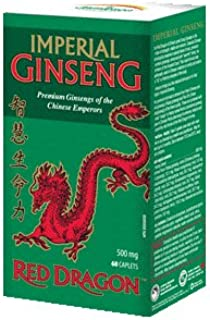 Red Dragon Imperial Ginseng-60 caplets Brand: Jamieson Laboratories
