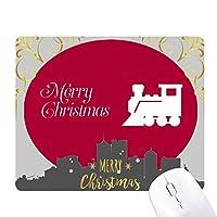 クリスマス・トレイン クリスマスイブのゴムマウスパッド